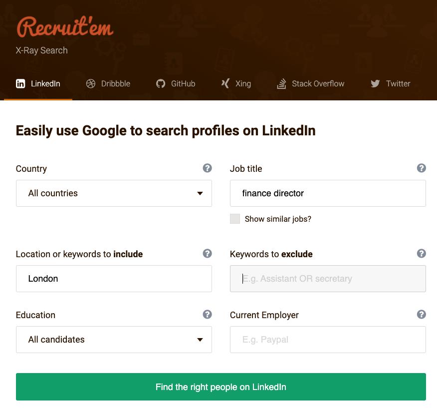 recruitem tool